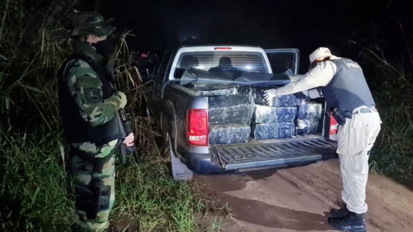 Encontraron mil kilos de marihuana en una camioneta