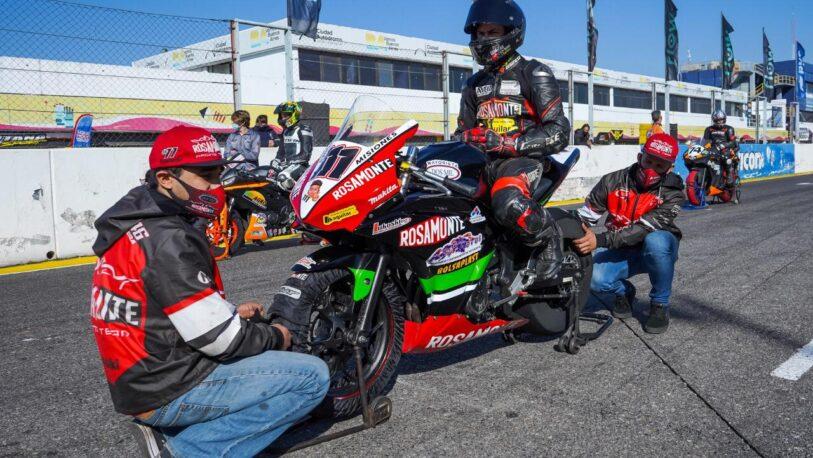 El misionero Esequiel Gómez salió segundo en el Superbike