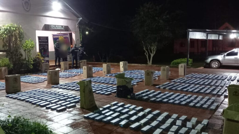 Incautaron cigarrillos de contrabando en Eldorado