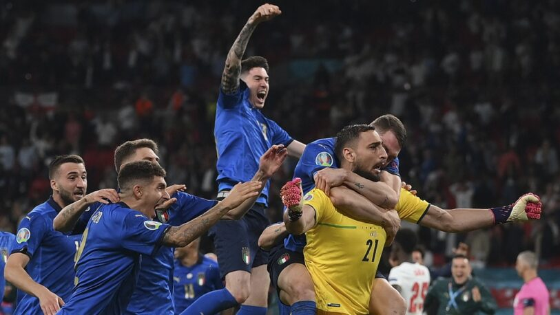 Italia derrotó en los penales a Inglaterra y es campeón de la Eurocopa