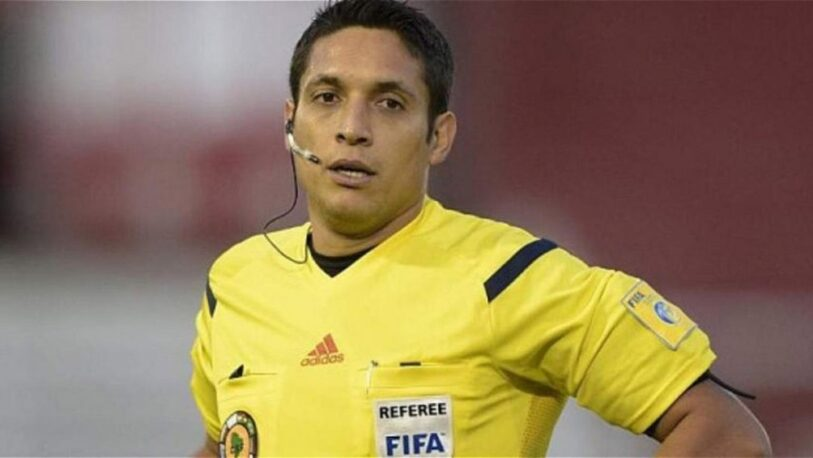 Jesús Valenzuela será el árbitro de la semifinal entre Argentina y Colombia