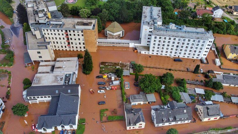 Las inundaciones en Alemania ya dejaron 165 muertos