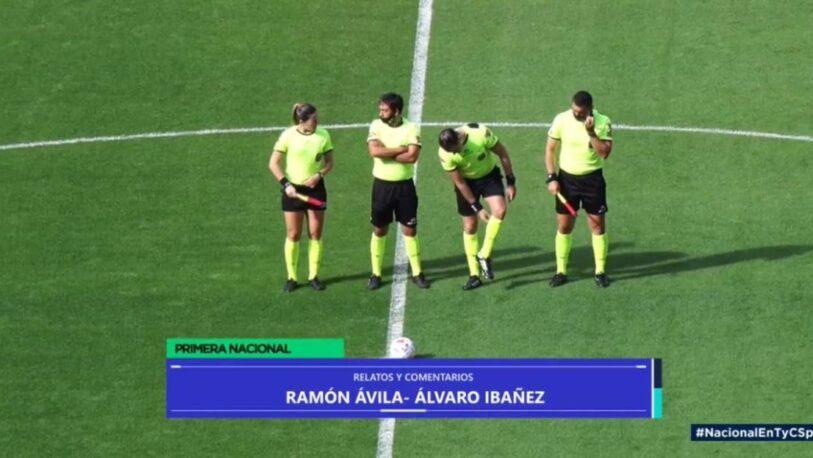 Machismo en el fútbol: repudian el comentario de un relator sobre una árbitra