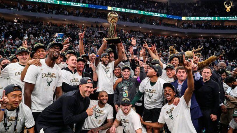Milwaukee Bucks campeón de la NBA