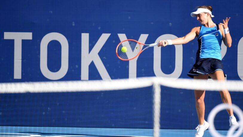 Nadia Podoroska quedó eliminada de los Juegos Olímpicos de Tokio 2020