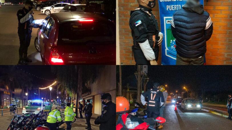 Operativos: conductores alcoholizados y más de 110 infractores