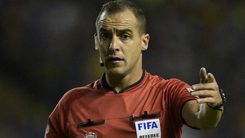 Copa América: el uruguayo Ostojich será el árbitro de la final