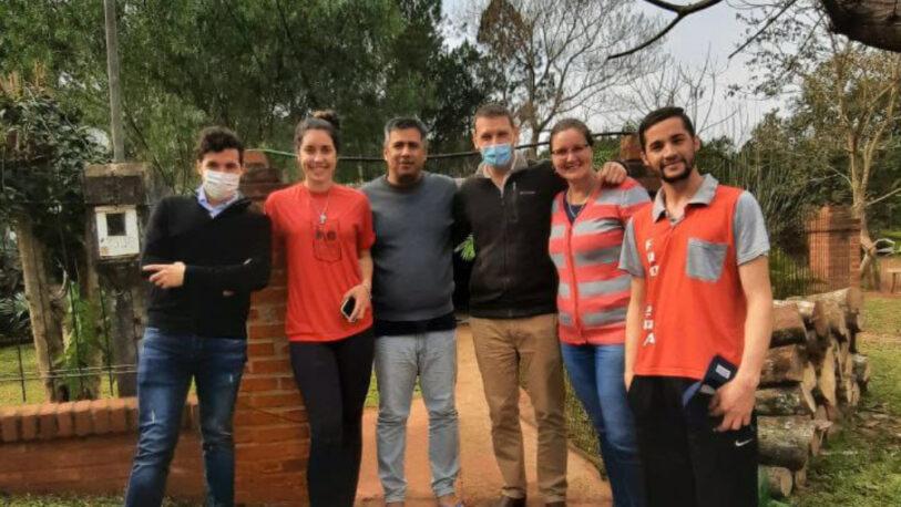 Pedro Puerta visitó a vecinos de Ruiz de Montoya