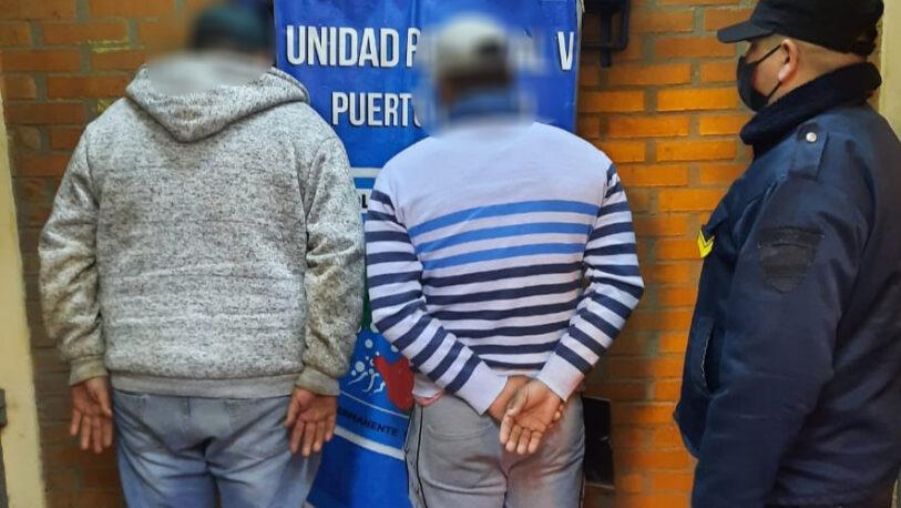 Puerto Libertad: atraparon a dos hombres en pleno robo de yerba mate