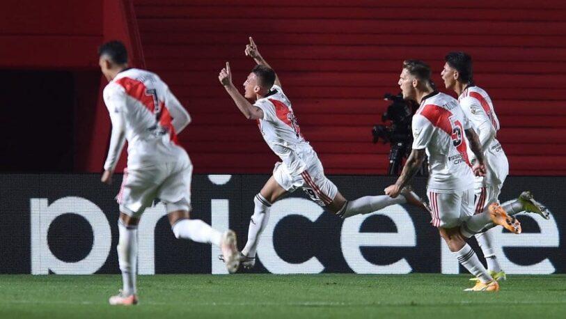 River venció a Argentinos y se metió en los cuartos de final de la Libertadores