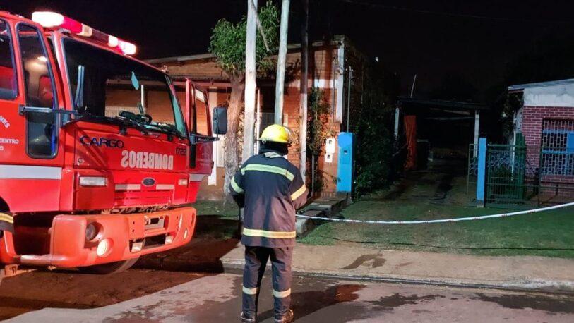 Sofocaron un incendio y hallaron el cuerpo de un hombre