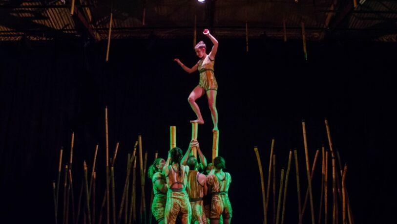 """""""Takuareté, cuerpo tacuara"""": una obra donde el circo se trenza con la naturaleza y la danza"""