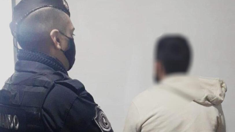 Un joven fue detenido por agredir a su madre