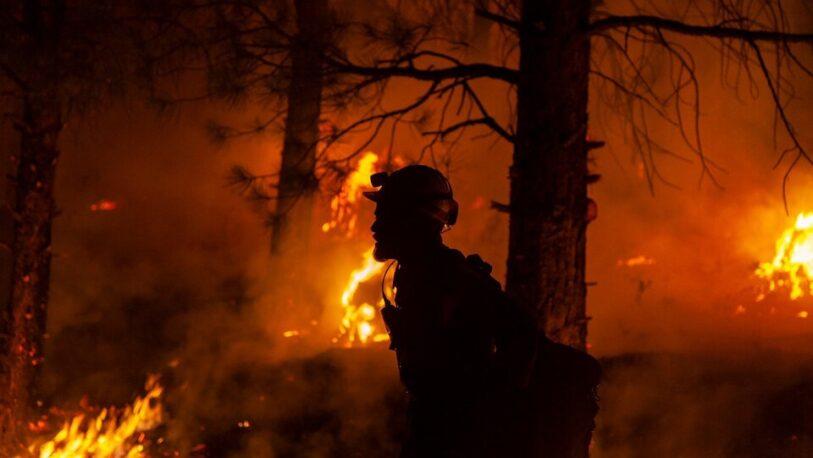 Declaran emergencia por los incendios en Canadá