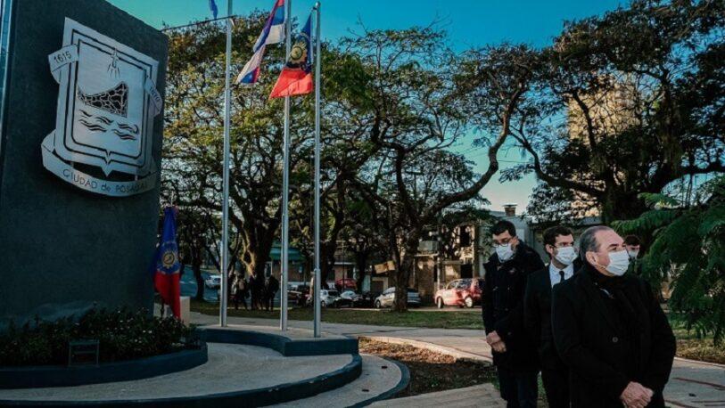 Conmemoraron el aniversario de la Bandera de Posadas