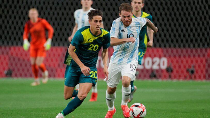 Argentina debutó con derrota en los Juegos Olímpicos ante Australia