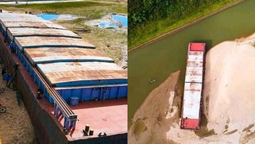 Una localidad de Corrientes mostró el impacto de la bajante del Paraná
