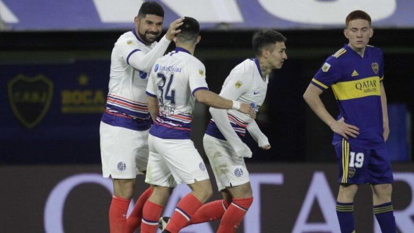 San Lorenzo se llevó el triunfo ante los pibes de Boca