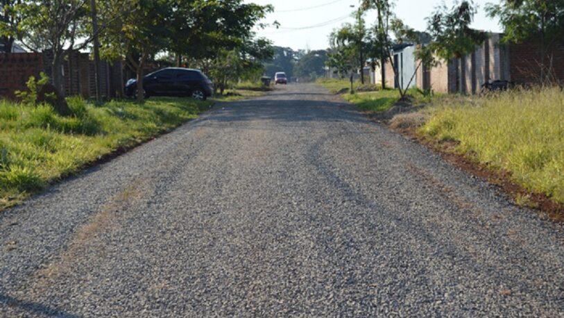 Conectan Itaembé Guazú con Pueblo Chico mediante la apertura de calles