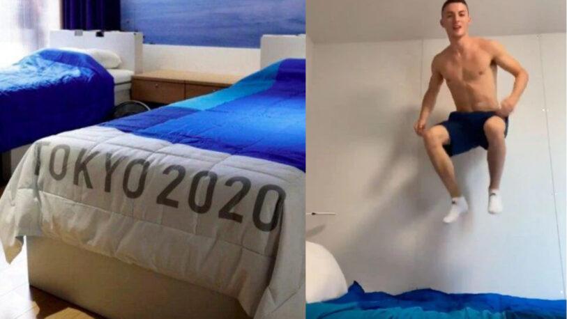 """JJ.OO Tokio: Adiós a las camas """"Anti sexo"""""""