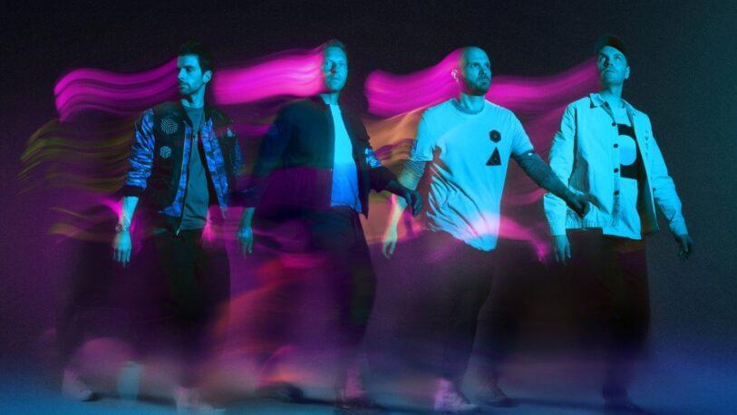 Coldplay anunció su nuevo disco con un viaje cósmico animado para octubre