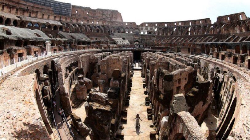 El Coliseo romano abrirá su nuevo recorrido subterráneo
