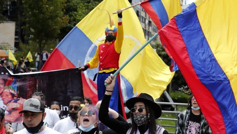 Protestas en Colombia: 22 civiles detenidos y 21 policías heridos