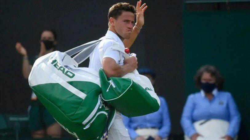 Se acabó el sueño de Schwartzman en Wimbledon