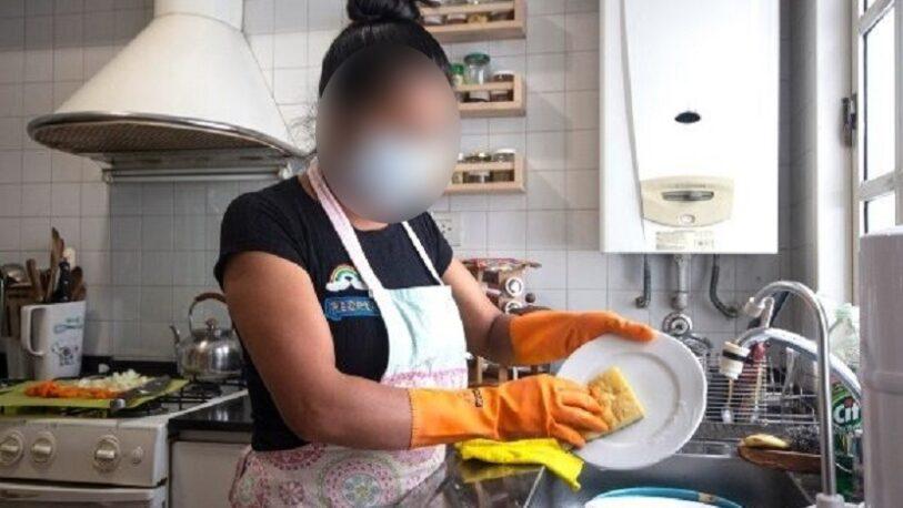 El sueldo del personal doméstico de nuevo quedó por debajo del salario mínimo
