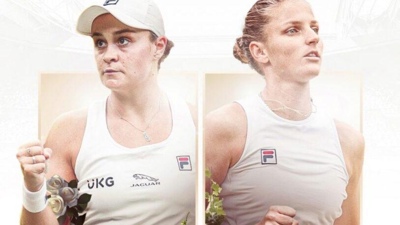Barty y Pliskova animarán la final femenina en Wimbledon