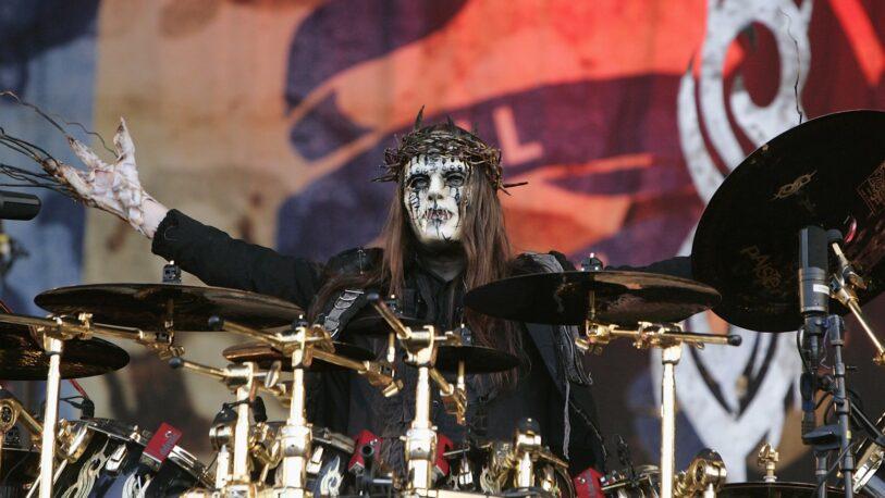 Murió el baterista Joey Jordison, fundador de Slipknot y figura del rock más extremo