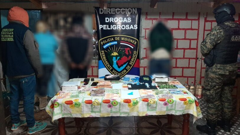 Desbarataron un kiosco narco en Posadas: Hay tres detenidos