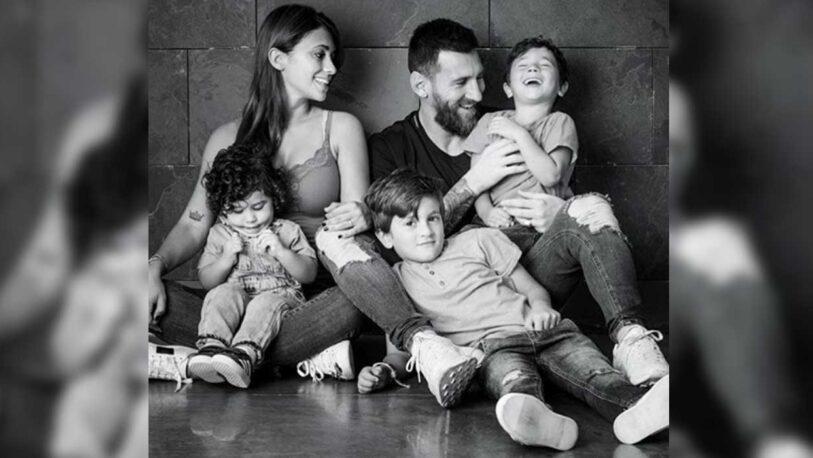 Antonela Roccuzzo emocionada en las redes con un mensaje a Messi