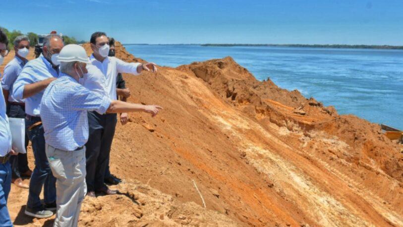 El Puerto de Ituzaingó cuenta con un avance del 43 por ciento