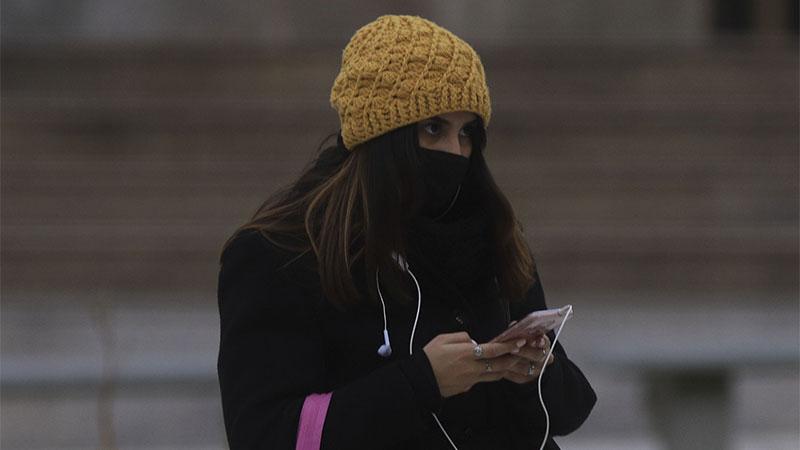 Rige advertencia violeta por la ola de frío en 18 provincias