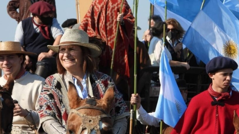 """Patricia Bullrich marchó con el campo: """"Vine a defender las libertades"""""""
