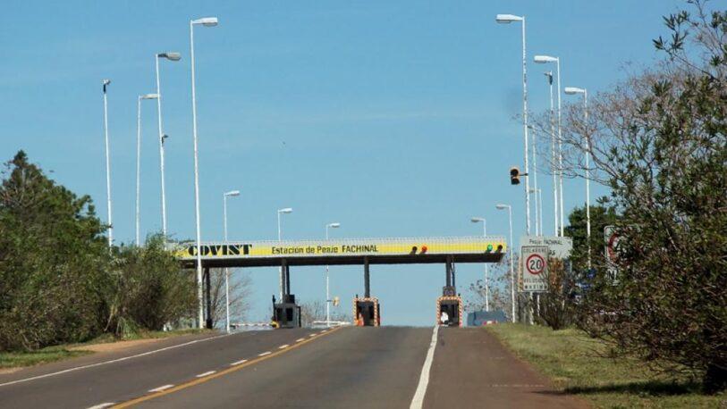 Desde el 15 de julio aumentarán las tarifas del peaje de la ruta provincial 105