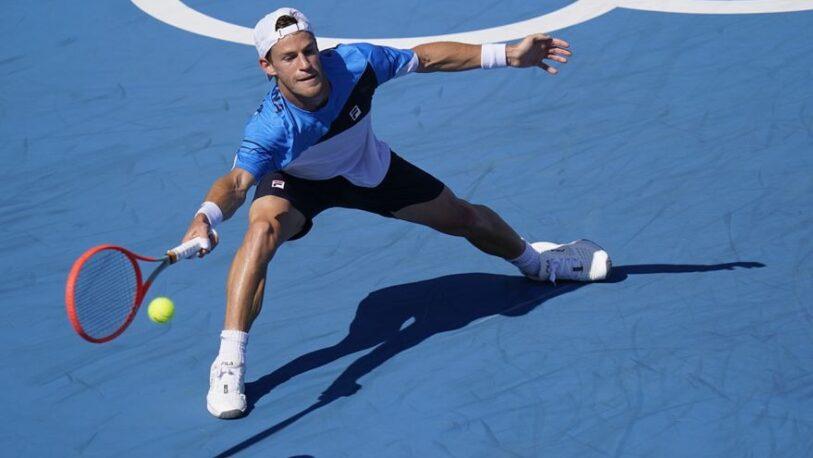 Tenis en Tokio 2020: Diego Schwartzman ganó y avanzó a octavos de final