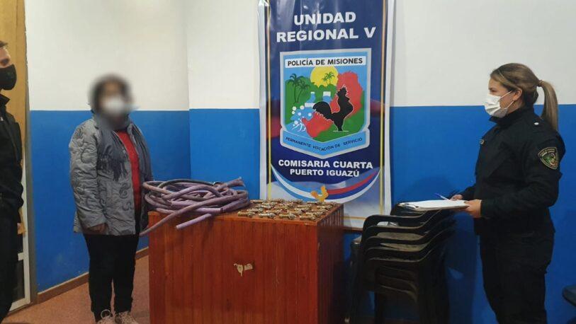 Recuperaron objetos robados de una escuela en Iguazú