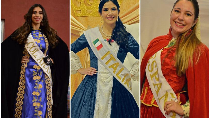Presentación de reinas de la Fiesta del Inmigrante