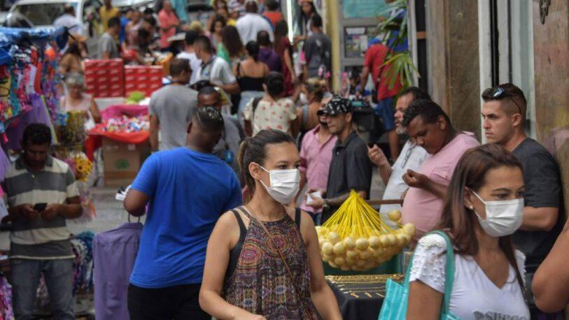 Detectan posible circulación comunitaria de la variante Delta en Brasil
