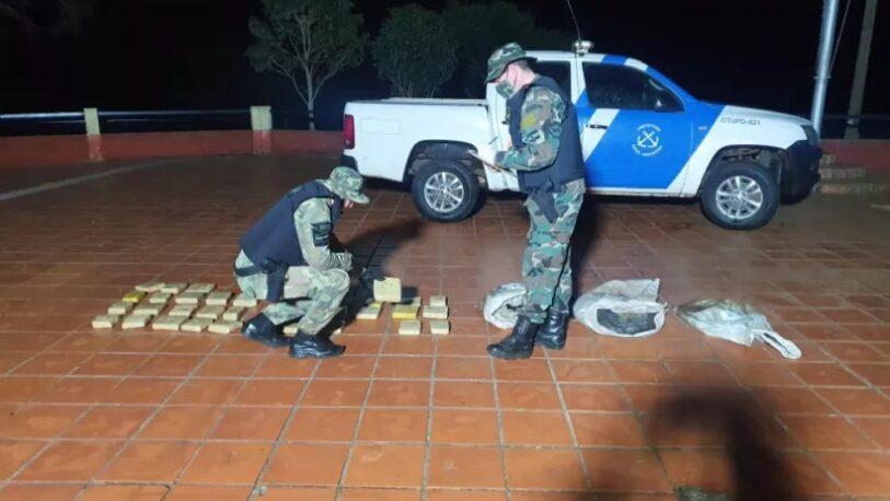 Decomisaron en Santa Ana un cargamento de droga valuada en $6 millones