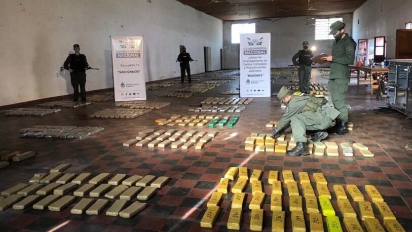 Secuestraron más de una tonelada de marihuana en el ingreso a General Urquiza