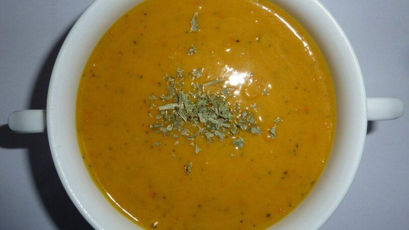Sopa de calabaza: ideal para los días fríos