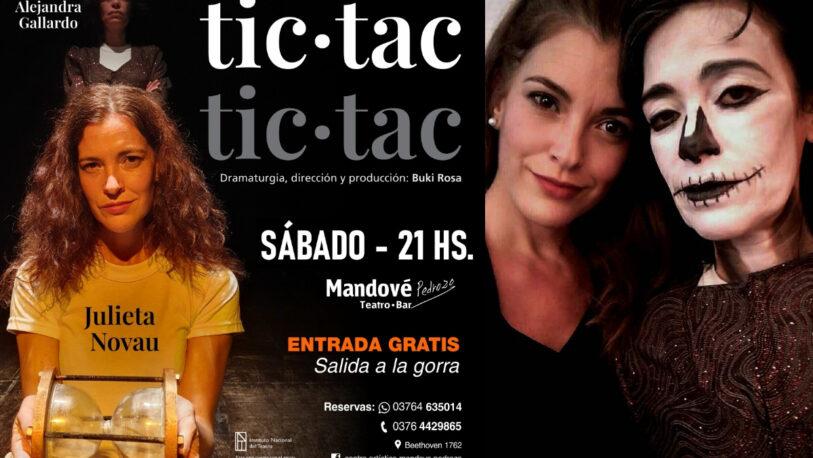 """Últimas funciones de """"Tic tac – Tic tac"""" en la Sala Mandové"""