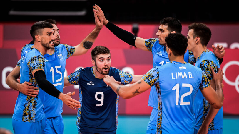 La Selección de Vóley sigue con vida en los juegos olímpicos