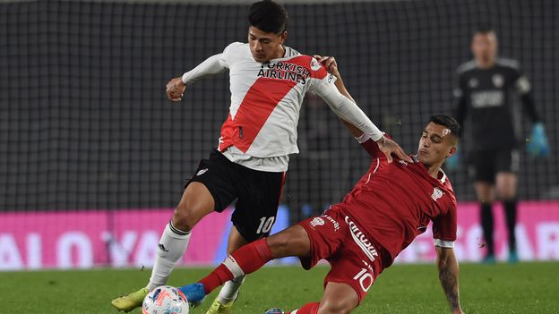 Copa de la Liga: River empató a último minuto con Huracán