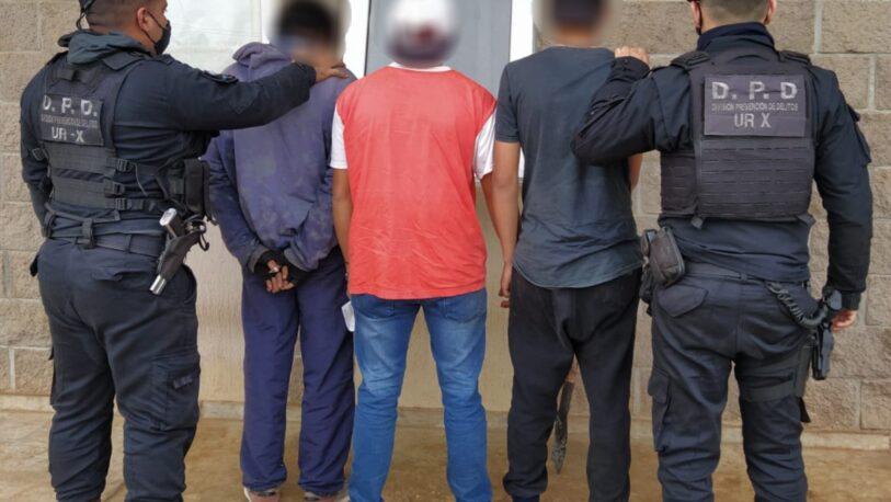 """Detienen a banda de """"roba cables"""" en Garupá"""