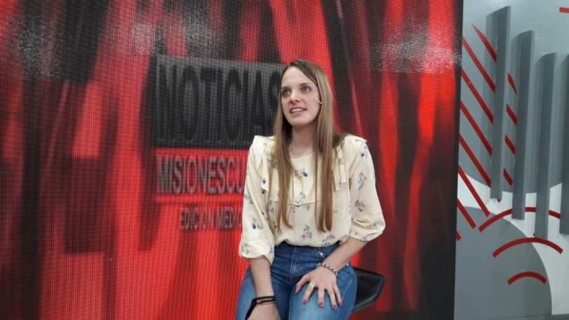 Florencia Klipauka quiere ser la voz de los jóvenes profesionales y emprendedores