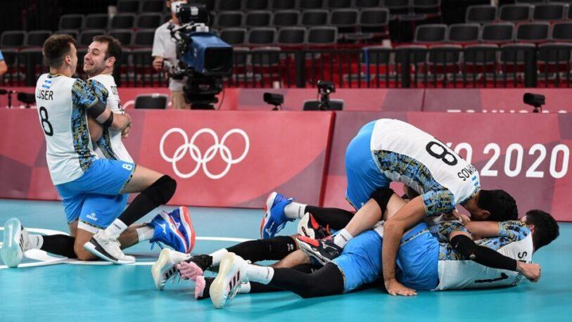 Juegos Olímpicos: ¡La Selección Argentina de vóley está en semis!